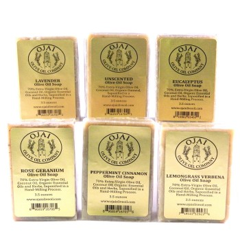 Olive Oil Soap Combo Pack