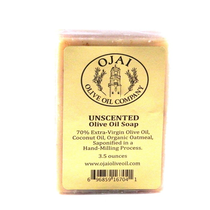 Unscented Olive Oil Soap 3.5oz