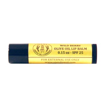 Wild Berry Olive Oil Lip Balm SPF 25 0.15oz